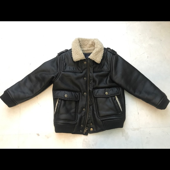 eb83f3c1bc7f cheaper acaba 277de baby gap kids toddler boy faux leather bomber ...